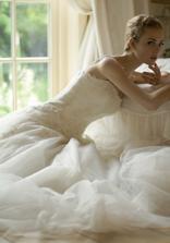 moje šaty na modelce:-)