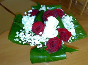 práce naší květinářky:-)