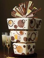 úžasný dort