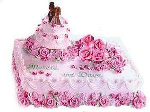 Svatební dort IX.