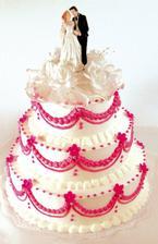 Svatební dort I.