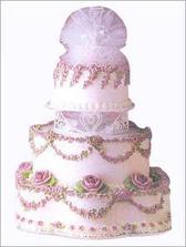 Svatební dort VIII.