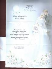 Svatební oznámení I.