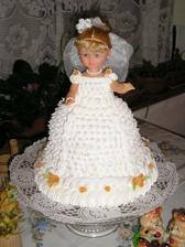 nádherná torta, trápila sa s ňou teta Ľubka