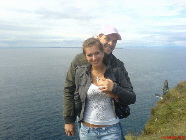 Ivka a petko 14.4.2007 - nase zasnuby 17.8.2006 Cliffy , irsko