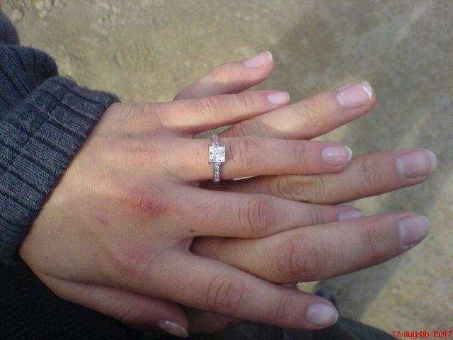 Ivka a petko 14.4.2007 - moj zasnubny prstienok