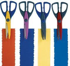 tyto nůžky použiju při tvoření jmenovek