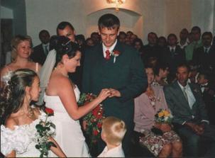 nevěsta ženichovi