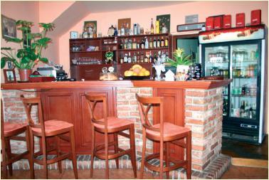 Tanicka a Borko Schusnixovci - restauracia - bar