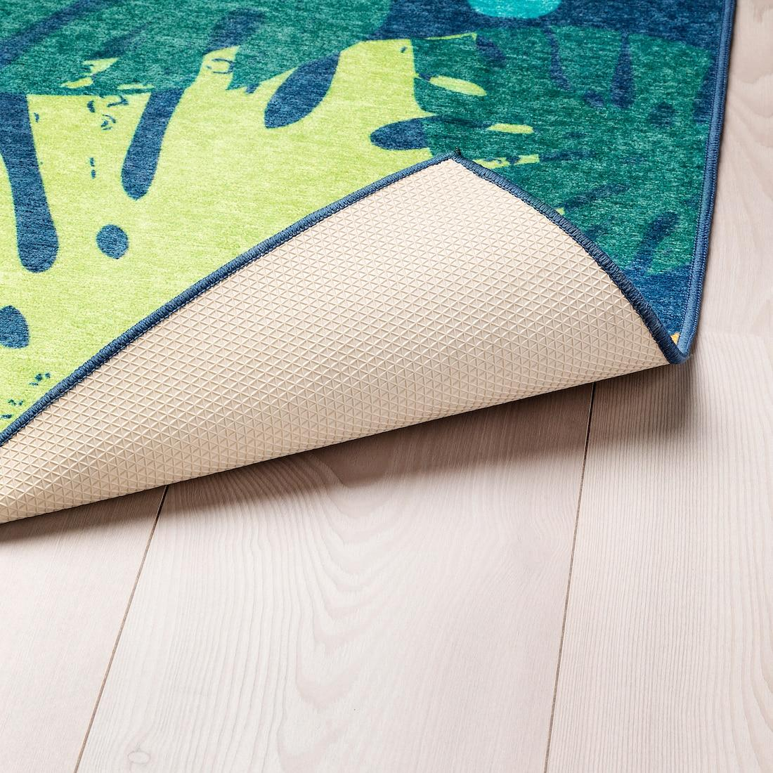 Pls takyto koberec s pogumovanym spodkom asi nebude vhodny na podlahove kurenie? Je z ikei a nemaju tuto info uvedenu. - Obrázok č. 1