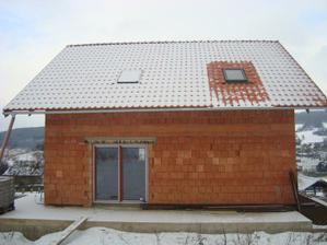 konečně máme střešní okna