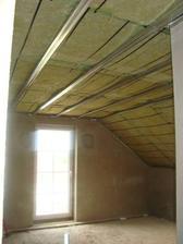 naše budoucí ložnice - začínáme se sádrokartonovými podhledy