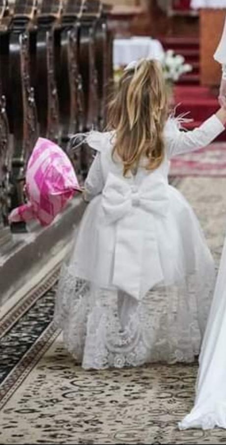 Detske svadobné saty - Obrázok č. 1