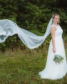 Svatební šaty boho, 40