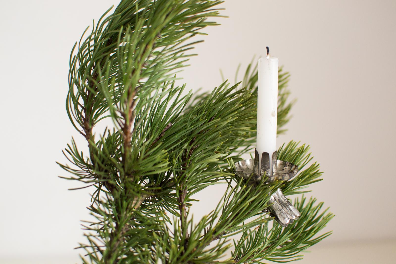 »» Č a s  _ V i a n o c «« - štipce na sviečky musím pozháňať viac na stromček, mam ich asi len 5ks