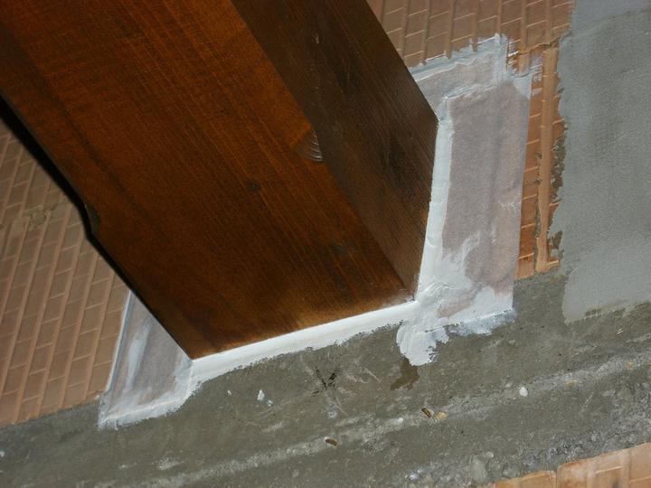 Tramovy strop, bungalow - Konecna uprava aj s vytmelenim PUR tmelom