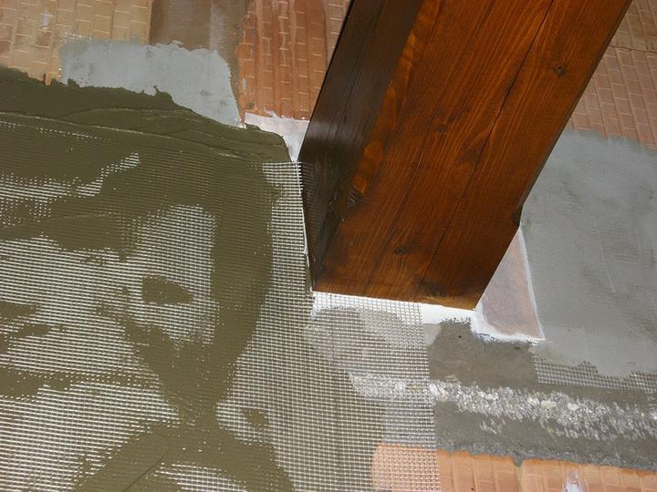 Tramovy strop, bungalow - 31.7.2011 Robime omietky