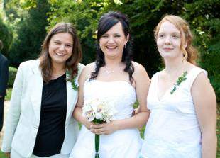 zleva: Janča, Já a Ďukík