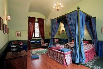 Zámecké apartmá pro první svatební noc