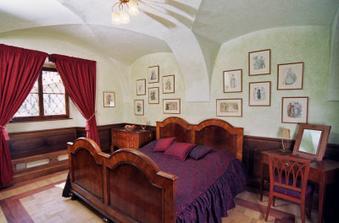 Na zámku jsou 3 apartmá ... jedno pro nás