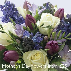 Kytice s modrými kvetmi - Pre Katy80 - Obrázok č. 1
