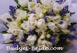 Kytice s modrými kvetmi - Pre Katy80 - Obrázok č. 3