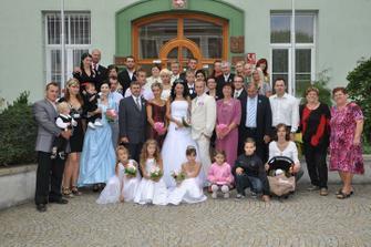 naše celá rodina...