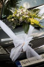 ... naše svadobné autíčko - realita ... :)
