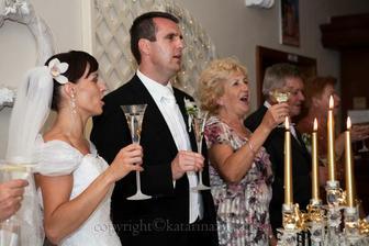... svadobné poháriky v skutočnosti ... :)