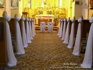 ... výzdoba v kostole ... predstava ... :)