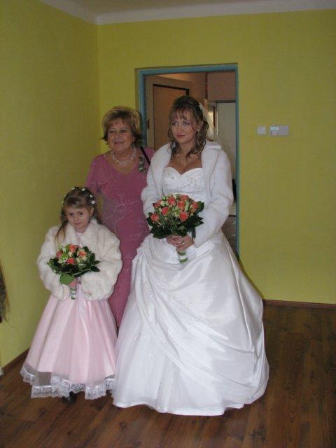 Tereza{{_AND_}}Alan - družička, maminka ženicha, nevěsta