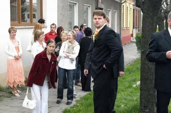 Čekání na nevěstu, ale nedočkal se :-(