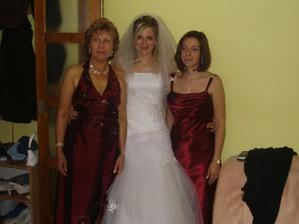 s mamkou a švagrovou
