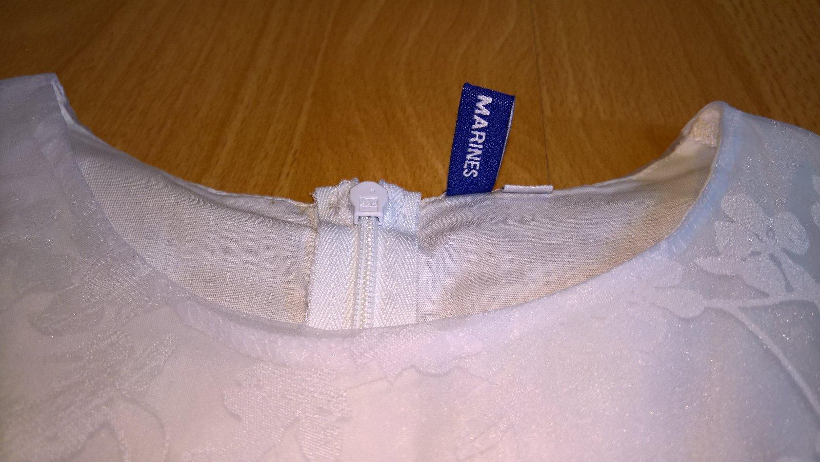 biele šaty pre slečnu - Obrázok č. 2