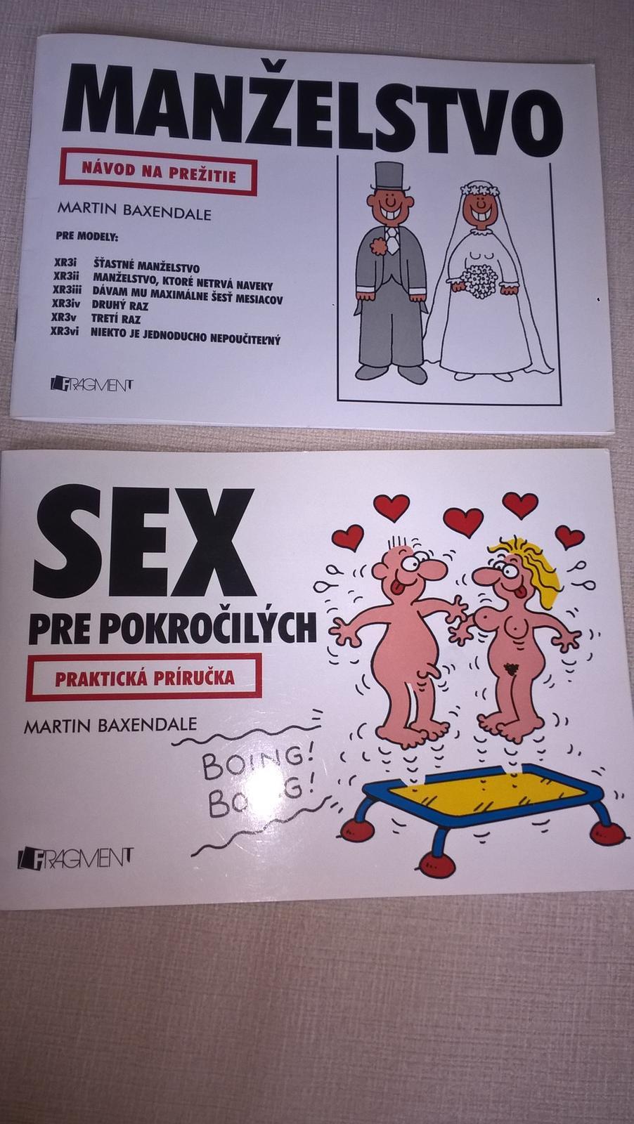 2x kniha manzelsto a sex - Obrázok č. 1