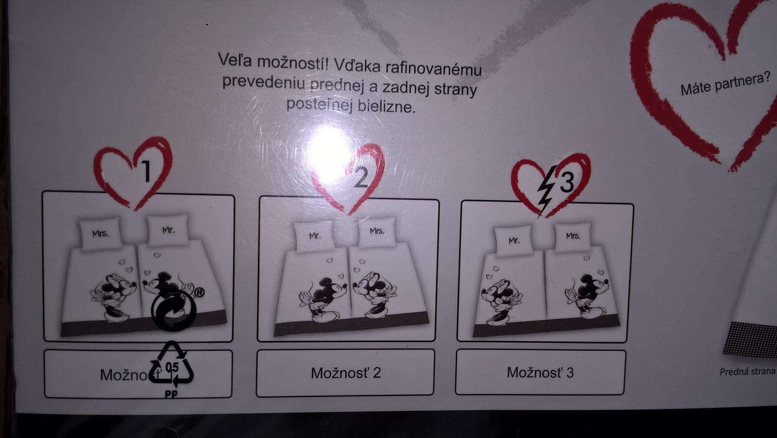 2x navlecka disney pre zamilovanych - Obrázok č. 3