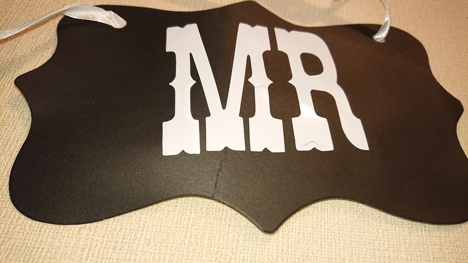 tabulka Mr & Mrs - Obrázok č. 2