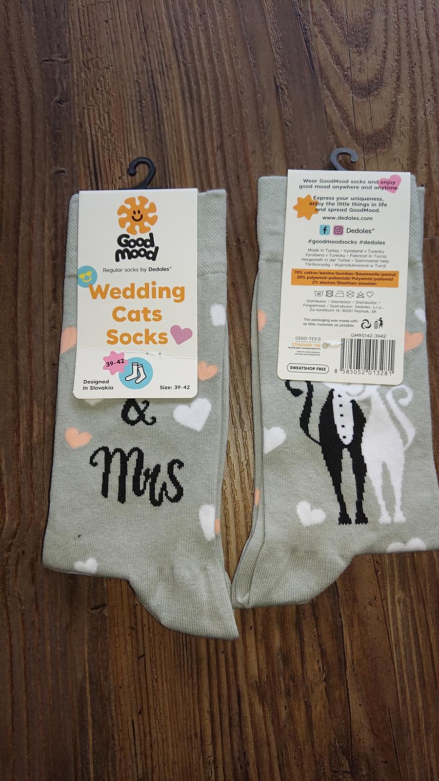 2x Nove ponozky Dedoles MR a MRS - Obrázok č. 1