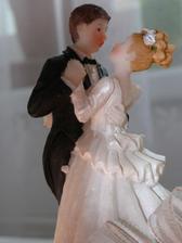 Páreček na svatební dort