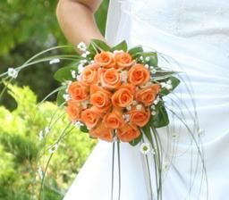 Oranžová květina určitě bude