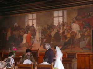 obřadní síň Vlašského dvora