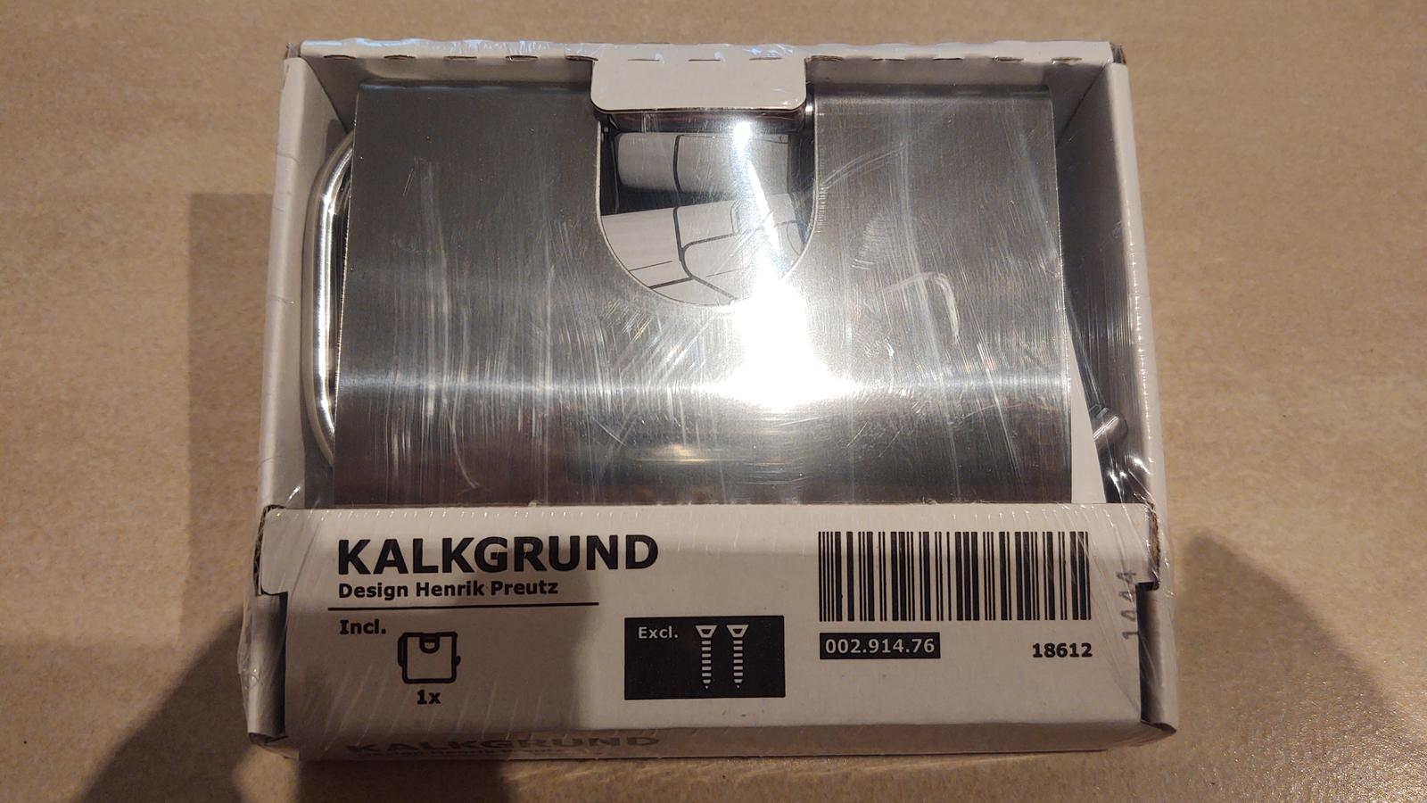 Držiak na toaletný papier IKEA nový nerozbalený - Obrázok č. 1