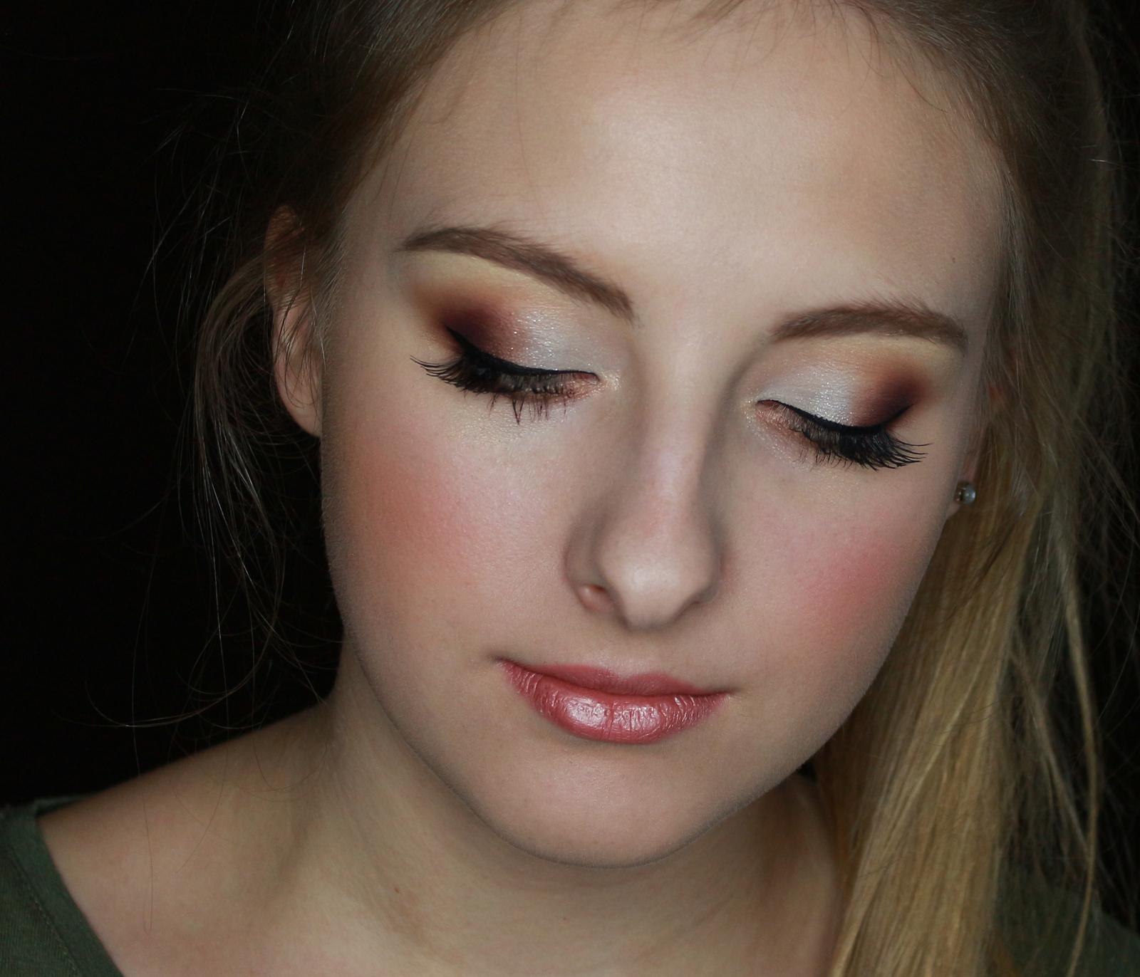 Vizážistka Žilina, svadobný makeup - jemné romantické matné líčenie očí