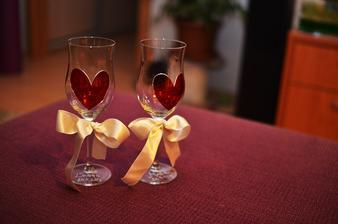 svadobné poháre od Peťky -  Sashe/mwende