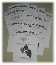 Svadobné noviny-spestrenie prestávok medzi tancovaním