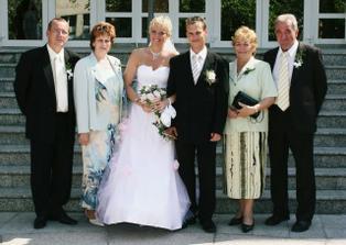 So svadobnými rodičmi