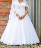 Svadobne šaty plus size, 42