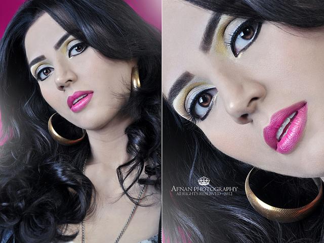 Hot pink make-up - Obrázok č. 3