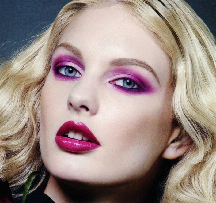 Hot pink make-up - Obrázok č. 5