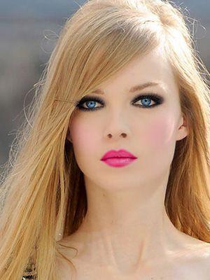 Hot pink make-up - Obrázok č. 6